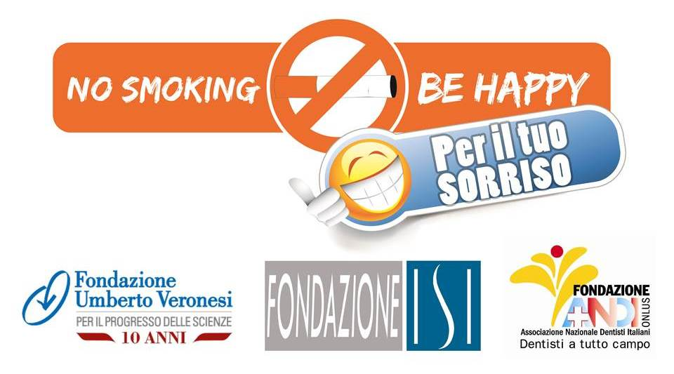 "Presentazione standard2 ""No smoking be happy – Per il tuo sorriso"""