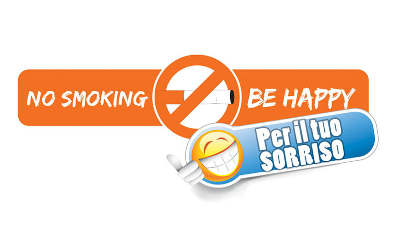 "no smo ""No smoking be happy – Per il tuo sorriso"""