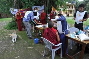 progetto ladakh campo di lavoro al monastero Edizione 2014 dell'Oral Cancer Day