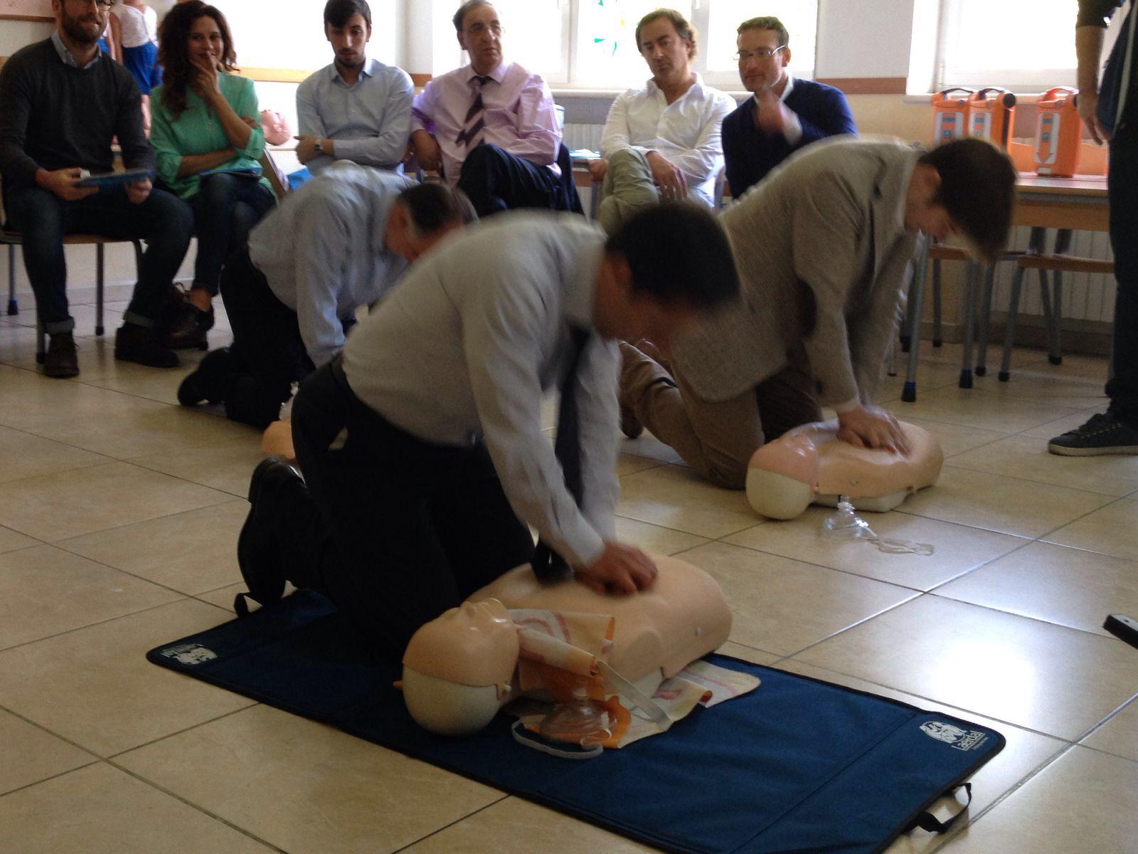 """IMG 5323 """"Aiutiamo a salvare vite"""", già 230 colleghi certificati"""