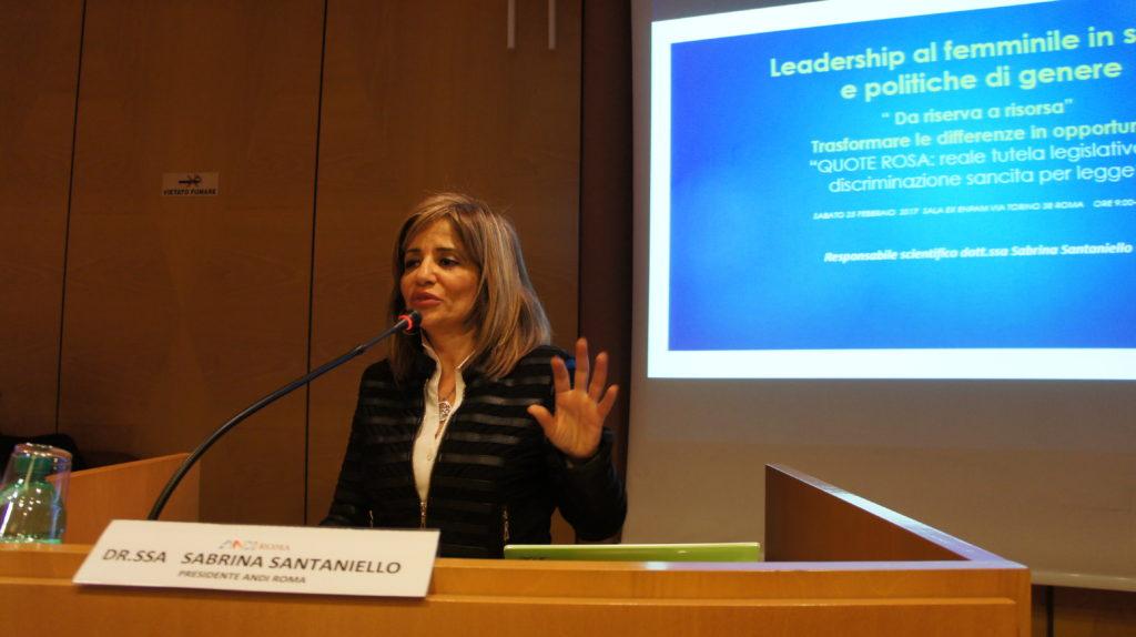 DSC05962 Odontoiatria al femminile. Il convegno di ANDI Roma e un premio a un nostro progetto.