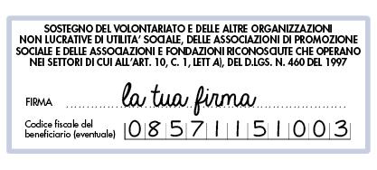 Dona il tuo 5x1000 a Fondazione ANDI