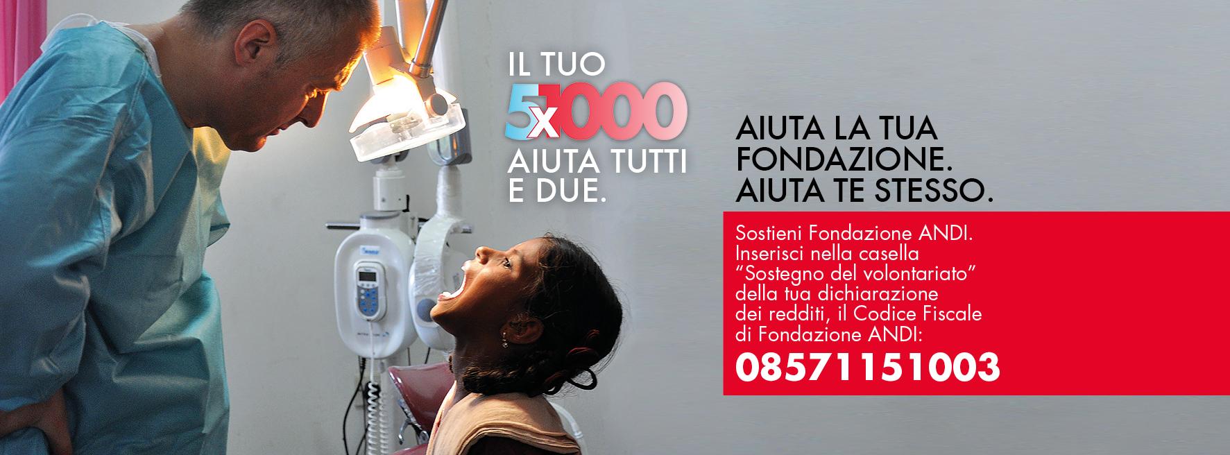 Sostieni i volontari ANDI con il tuo 5X1000