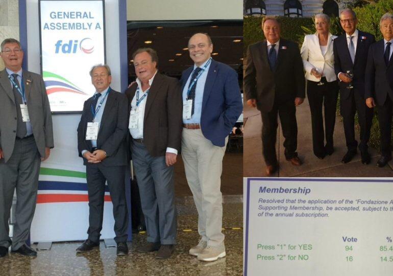 IMG 20190905 WA0013 Fondazione ANDI diventa Supporting Membership di FDI - World Dental Federation
