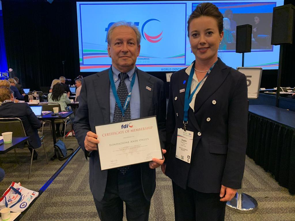 IMG 20190908 WA0002 Fondazione ANDI diventa Supporting Membership di FDI - World Dental Federation