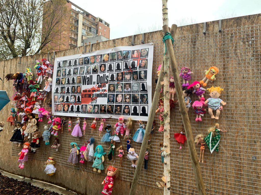 IMG 20191124 WA0015 Fotogallery: domenica 24 novembre Fondazione ANDI e The Wall of Dolls insieme in occasione della giornata contro la violenza sulle donne