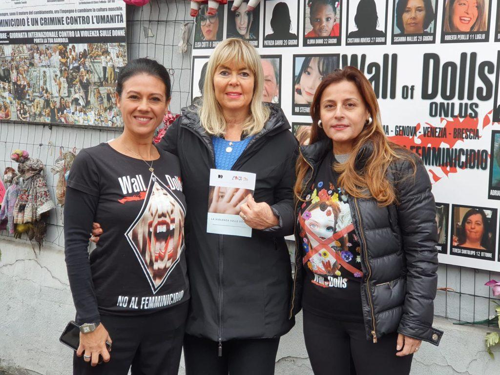 IMG 20191125 WA0001 Fotogallery: domenica 24 novembre Fondazione ANDI e The Wall of Dolls insieme in occasione della giornata contro la violenza sulle donne