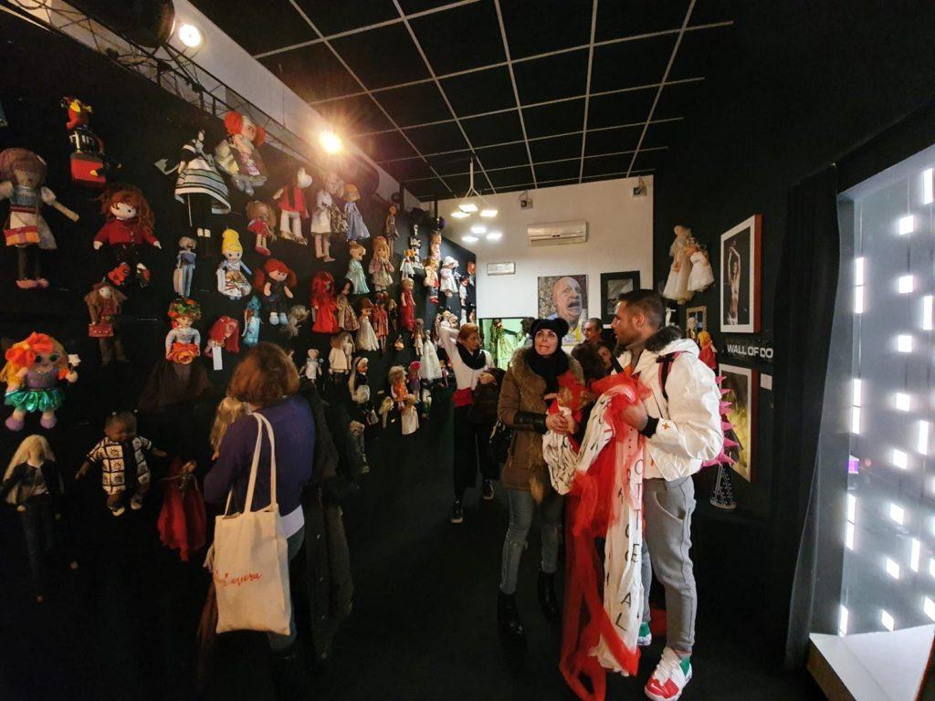 IMG 20191125 WA0009 Fotogallery: domenica 24 novembre Fondazione ANDI e The Wall of Dolls insieme in occasione della giornata contro la violenza sulle donne