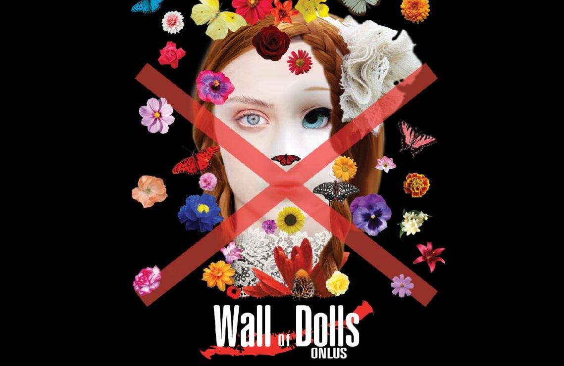 Locandina Evento 24 novembre Copia Domenica 24 novembre: il muro delle bambole si rinnova in occasione della giornata contro la violenza sulle donne