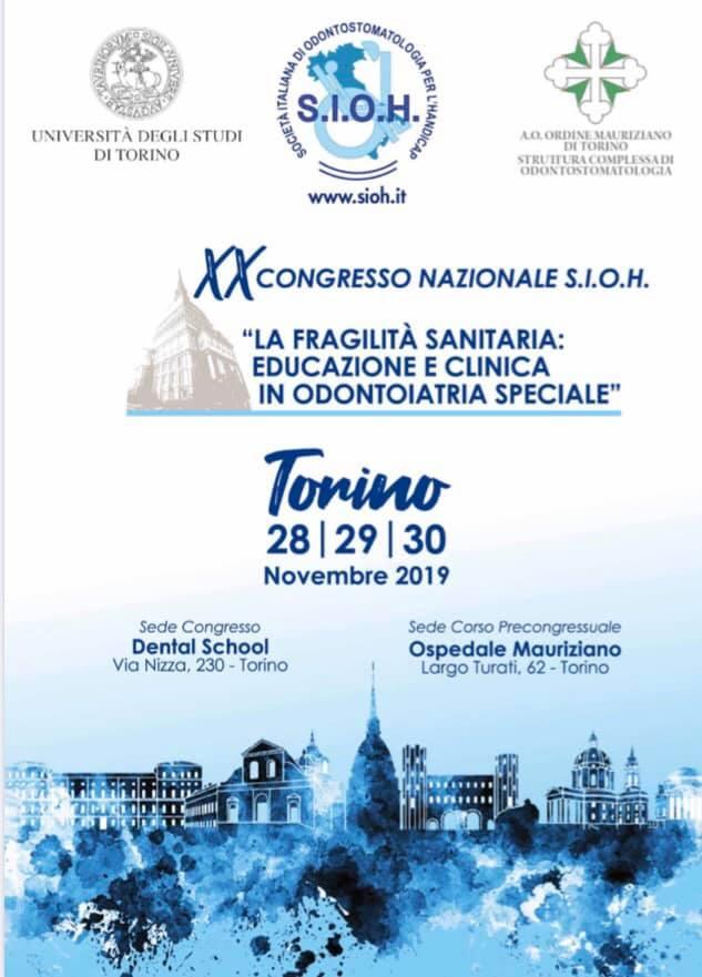 immagine programma convegno sioh 1 XX Congresso Nazionale S.I.O.H. - Torino, 28-30 novembre 2019