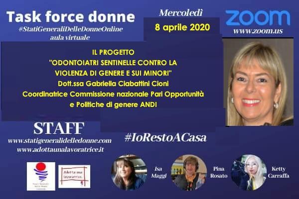 """WhatsApp Image 2020 04 07 at 21.00.59 """"Dentisti sentinella contro la violenza di genere"""": non si ferma l'impegno di ANDI e Fondazione ANDI"""