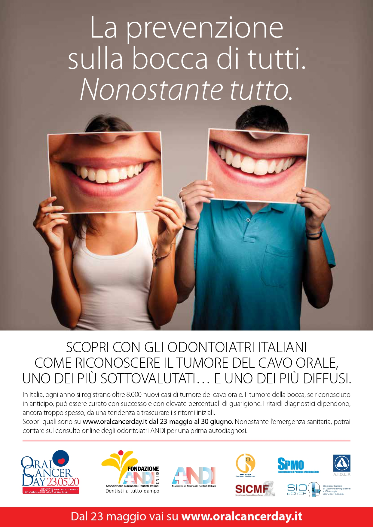 andi OCD 2020 annuncio A4 page Oral Cancer Day