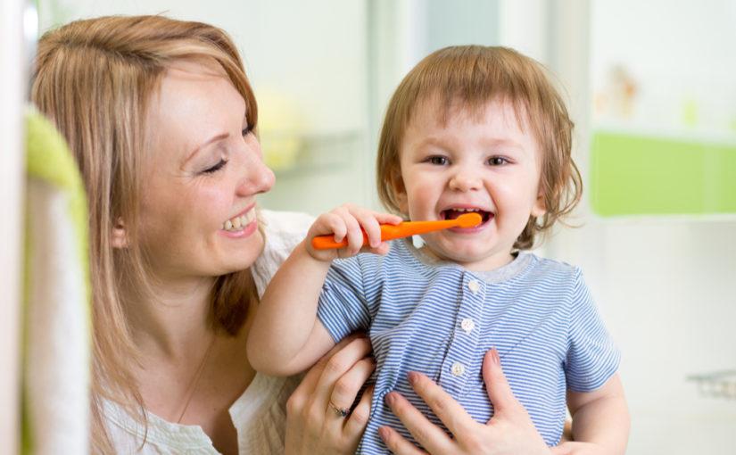 post 28 luglio Come insegnare al tuo bambino a lavarsi i denti