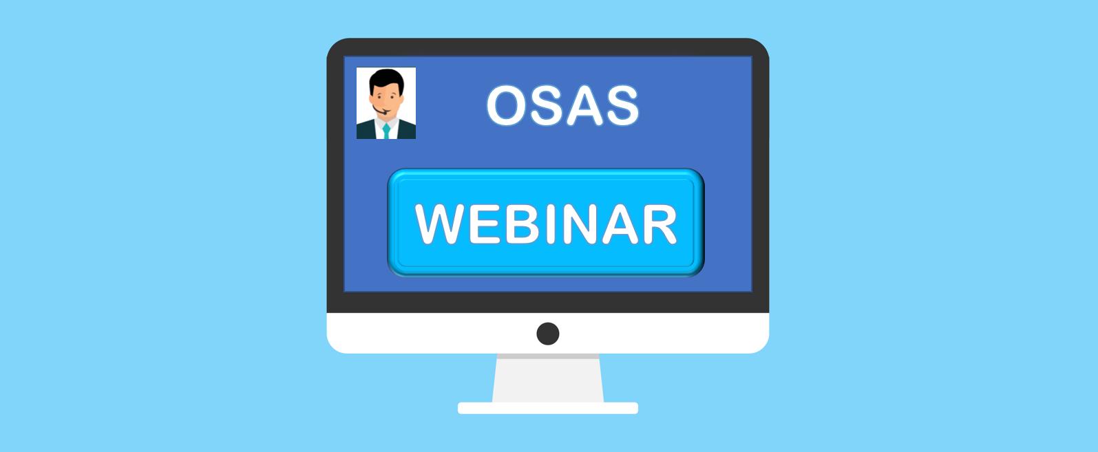 WEBINAR Convegno online OSAS | sabato 19 settembre 2020