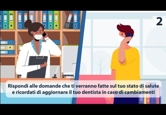 schermata video prevenzione Quali sono le 7 buone pratiche per una visita odontoiatrica in sicurezza?