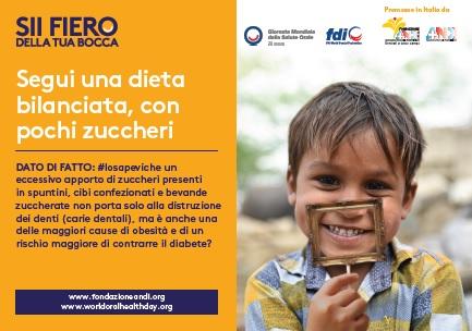 keymessage diet Giornata Mondiale della Salute Orale