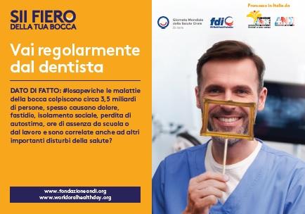 keymessage visitthedentist Vai regolarmente dal dentista