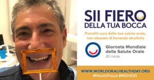 poster macis def Giornata Mondiale della Salute Orale