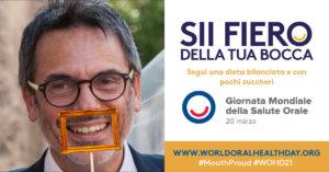 poster mangiucca def Giornata Mondiale della Salute Orale