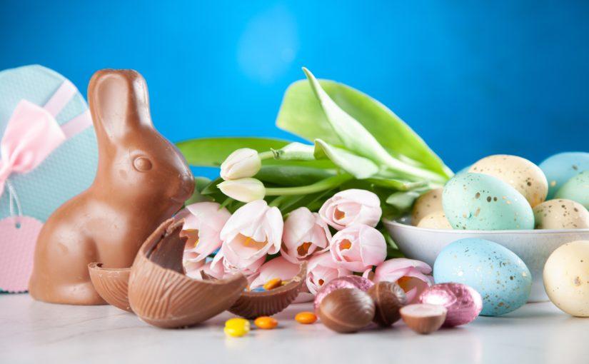 1 aprile L'uovo di cioccolato a Pasqua