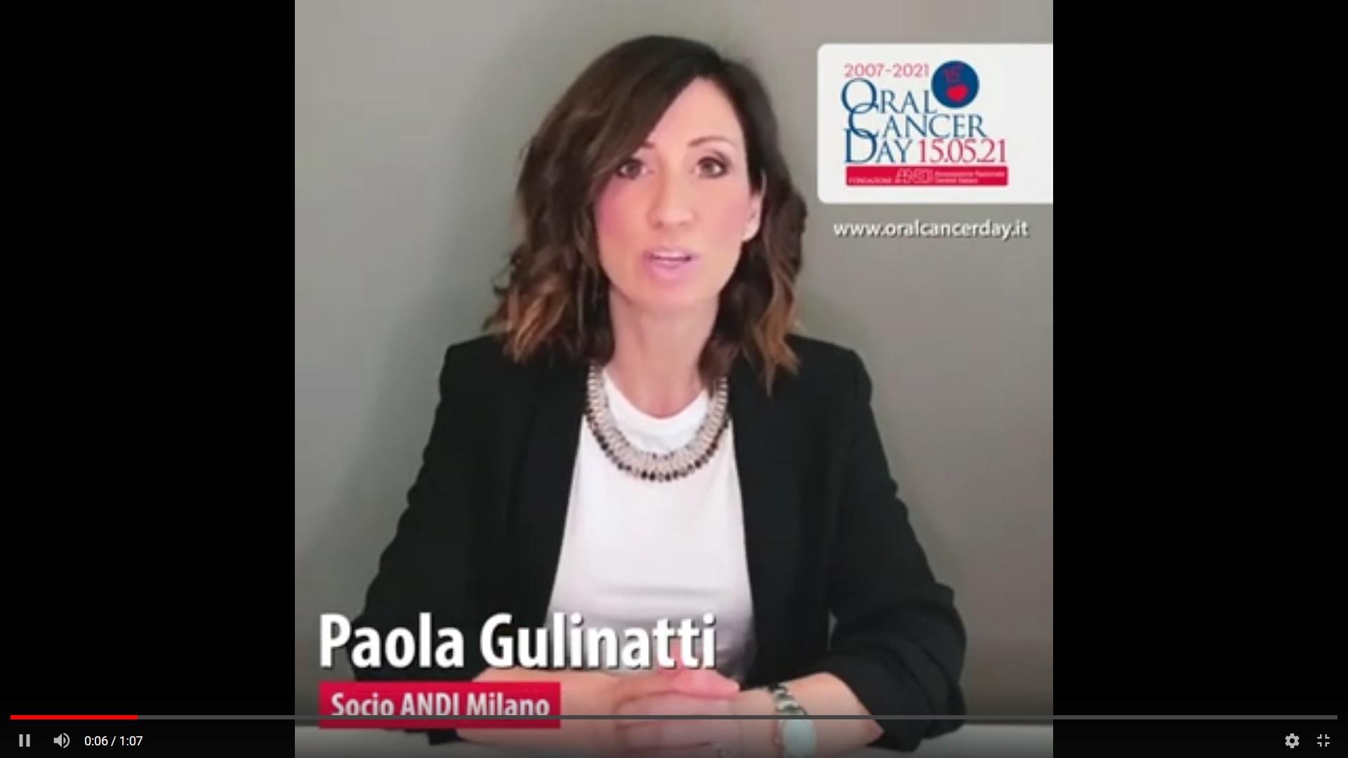 screen gulinatti Video appello OCD 2021 - Paola Gulinatti