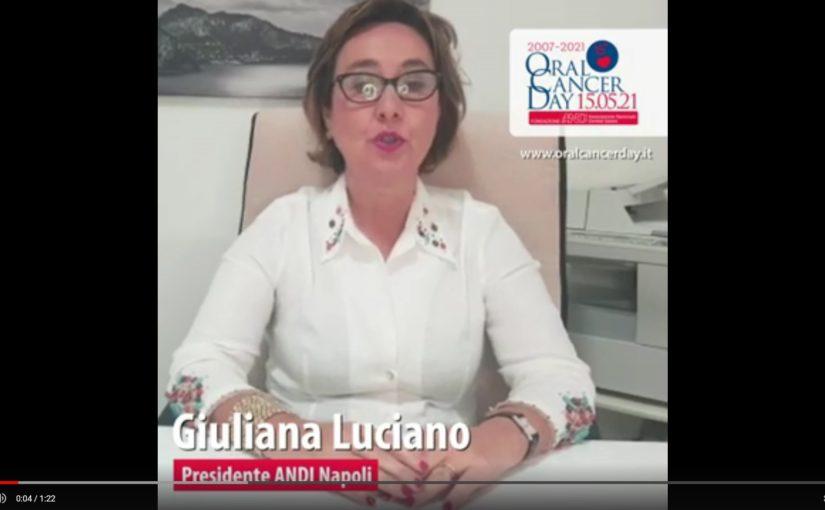 screen luciano Video appello OCD 2021 - Giuliana Luciano